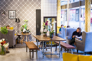 Belysning för cafe & restaurang