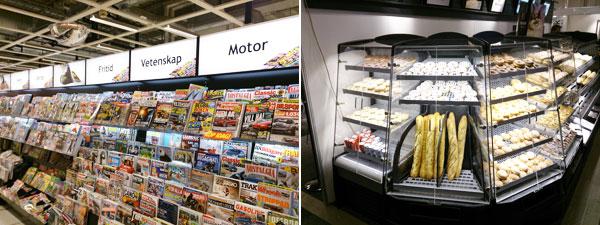 Exempel på anpassade belysningslösningar för butiksställ