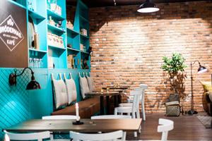 Belysning för cafe, restaurang och hotell