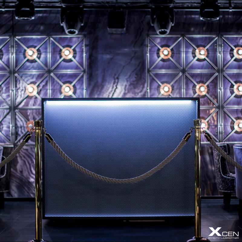 DMX belysning nattklubb och bar