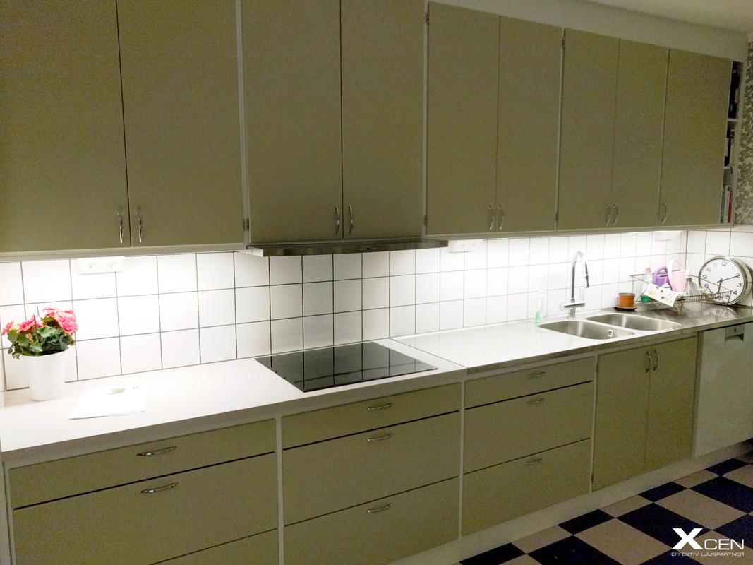 Guide - Bänkbelysning i kök