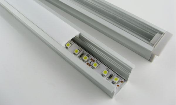 Aluminiumprofiler för ledtejp