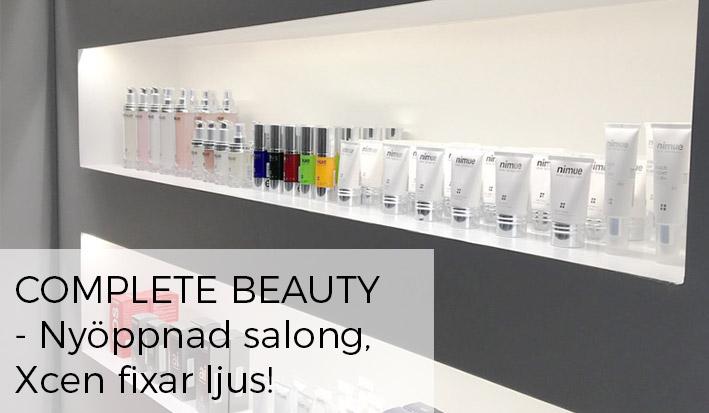 belysning i skönhetssalong