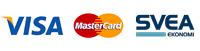 Betalning Visa, Mastercard, Svea Ekonomi