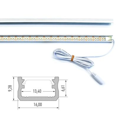 Led list X Alfa 570mm - Flera val