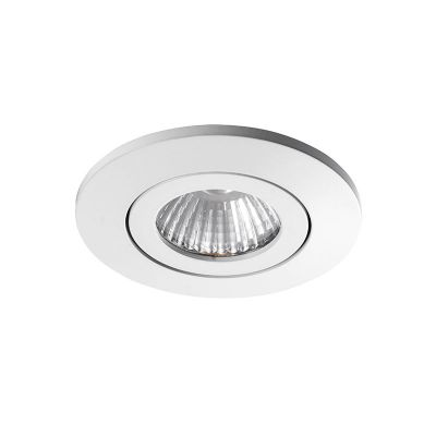 DL-2020 Downlight för tak GU10 - Ø:88mm Vit