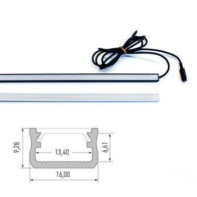 Led list X Premium 570mm - Flera val