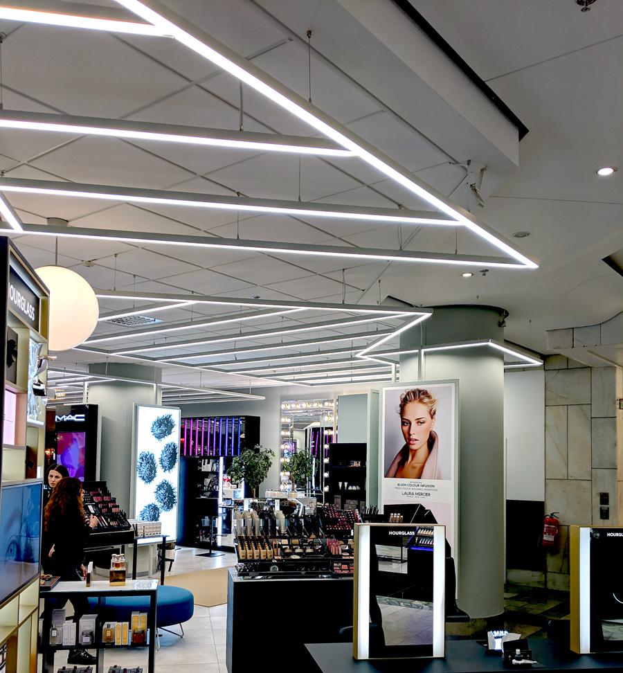 Belysning köpcentrum & shoppingcenter