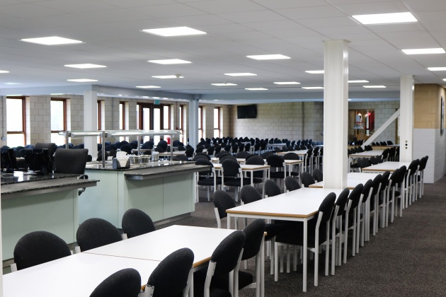 LED-paneler skolmatsal klassrum