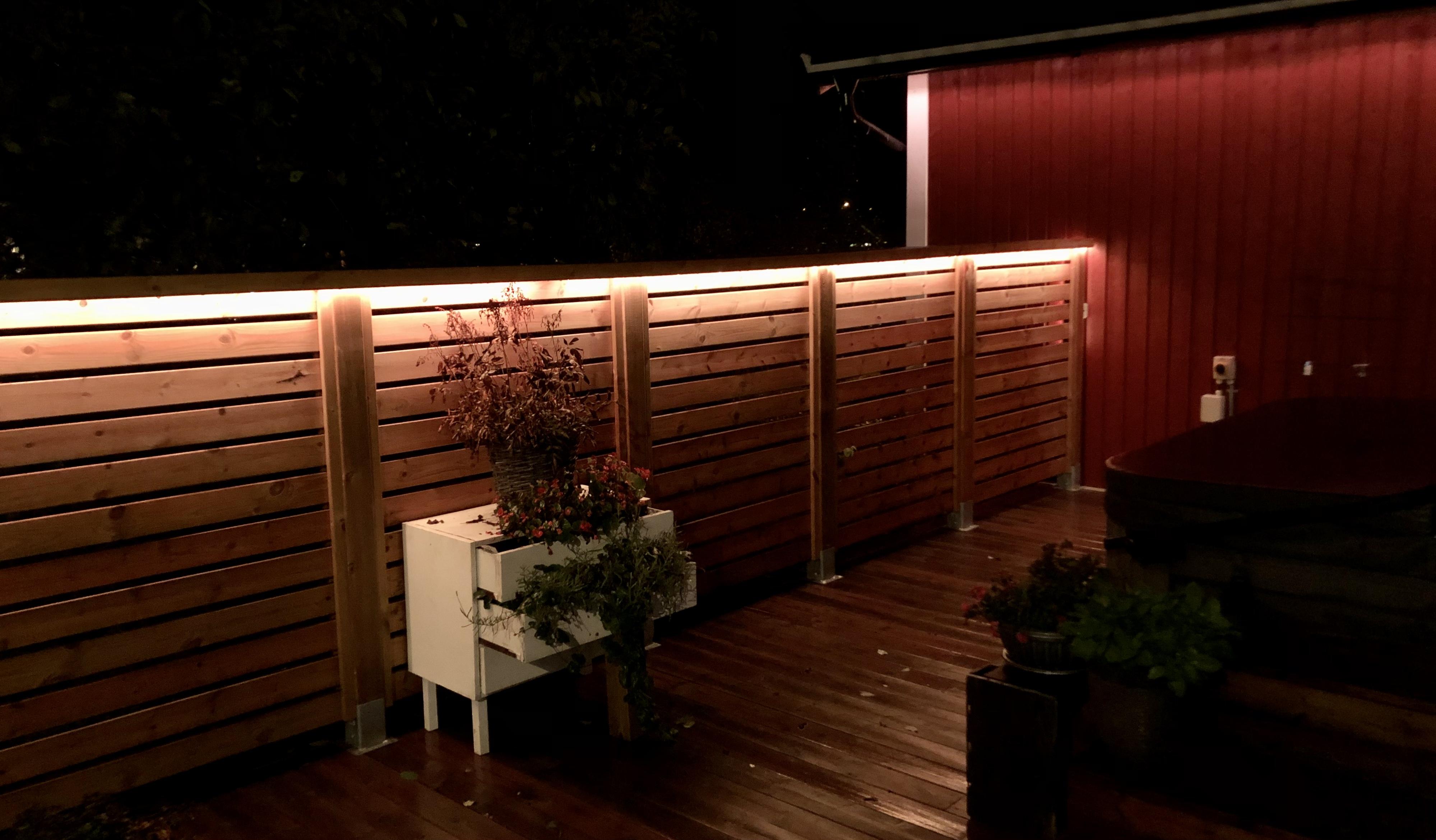 LED-slinga utomhus belysning
