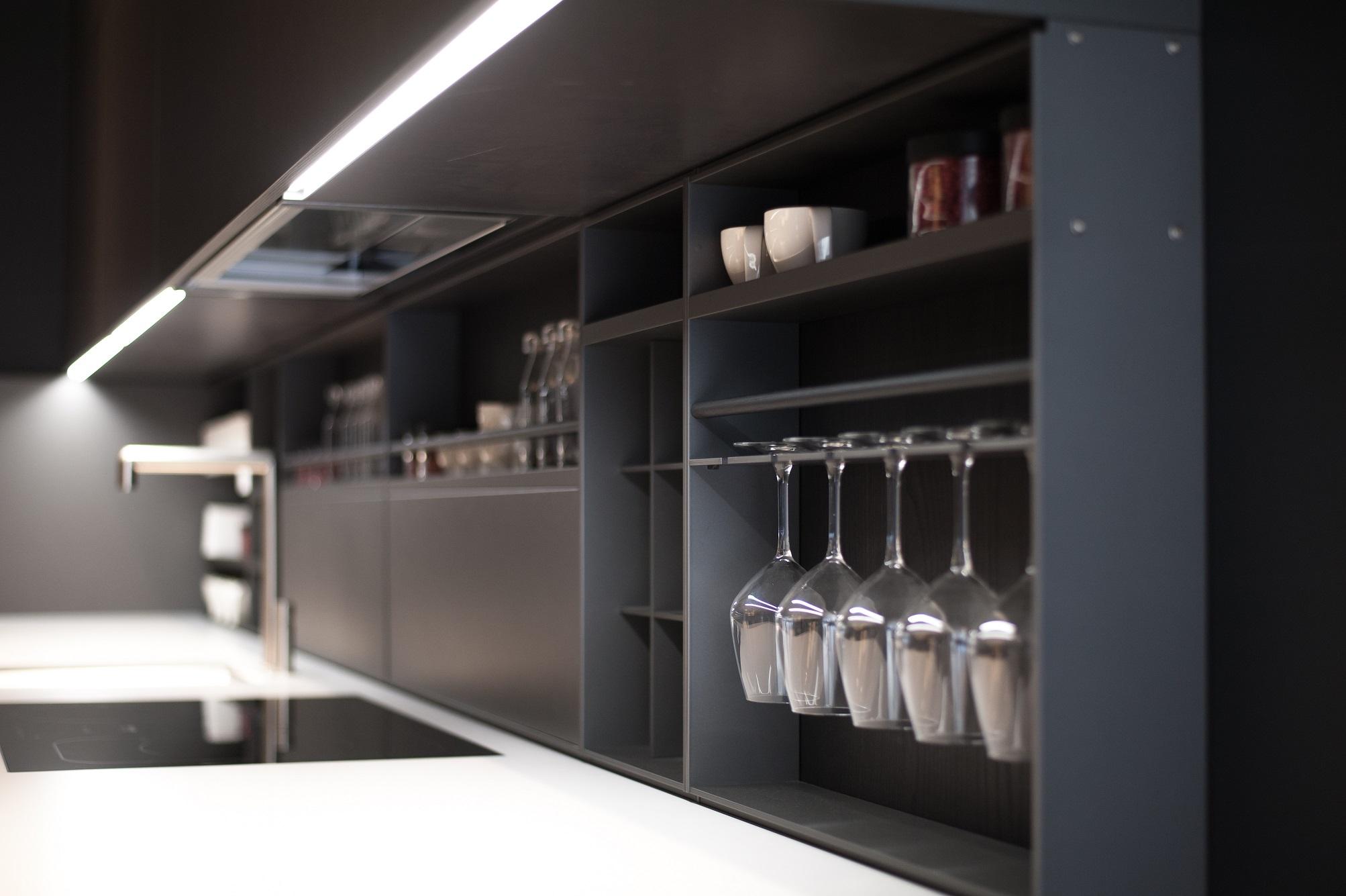 LED-lister i köket