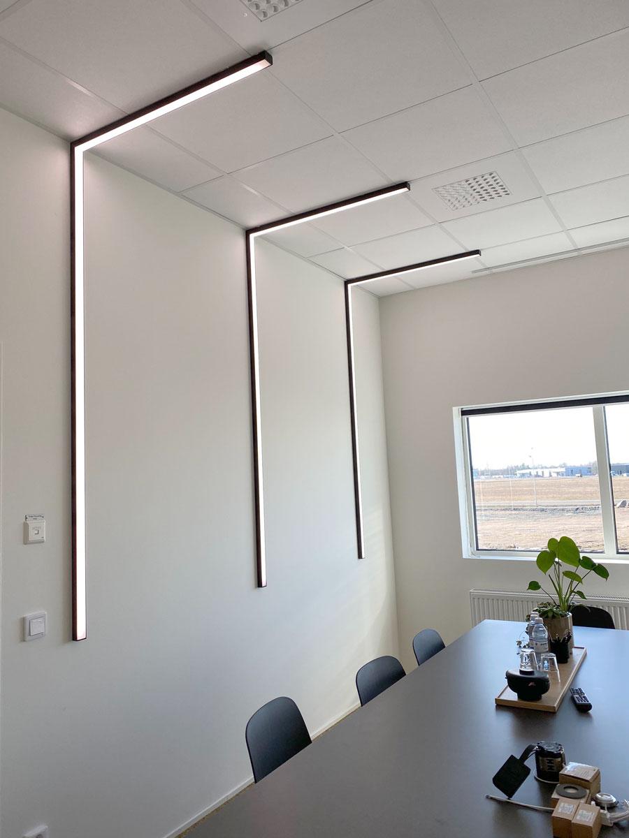 Ljusdesign belysning offentlig miljö