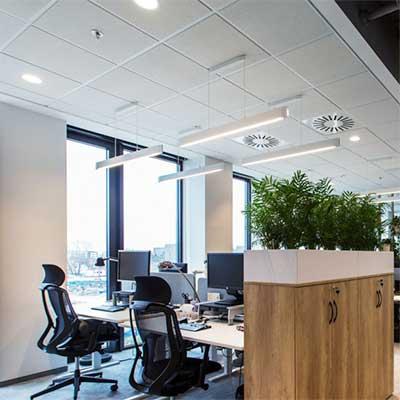 Antal lux som behövs vid belysning på kontor