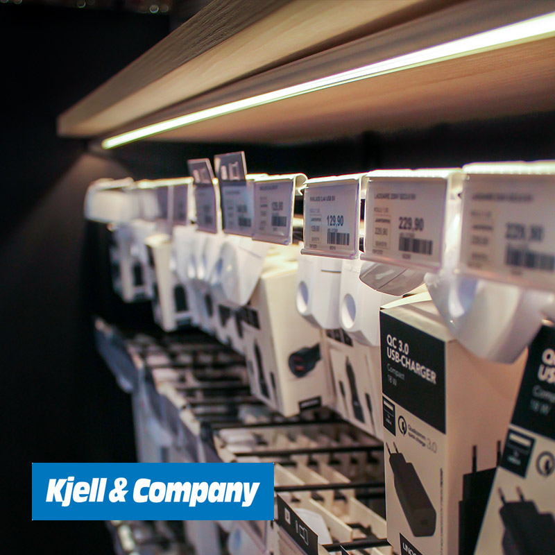 Kjell flyttar in med LED-lister från Xcen