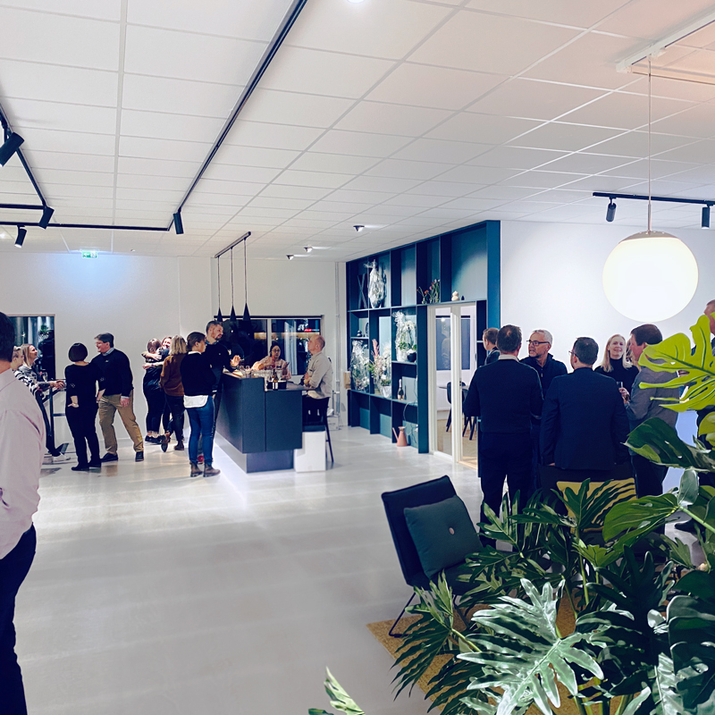 Invigning av Xcens nya lokaler