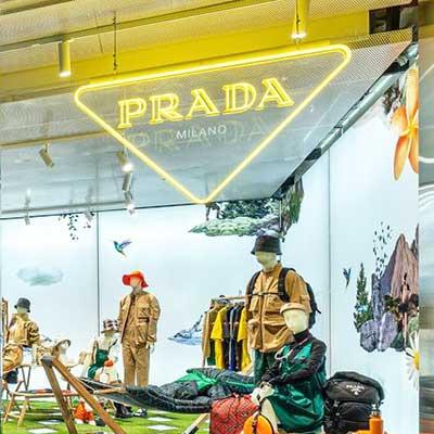 Spotlights till Prada outdoor