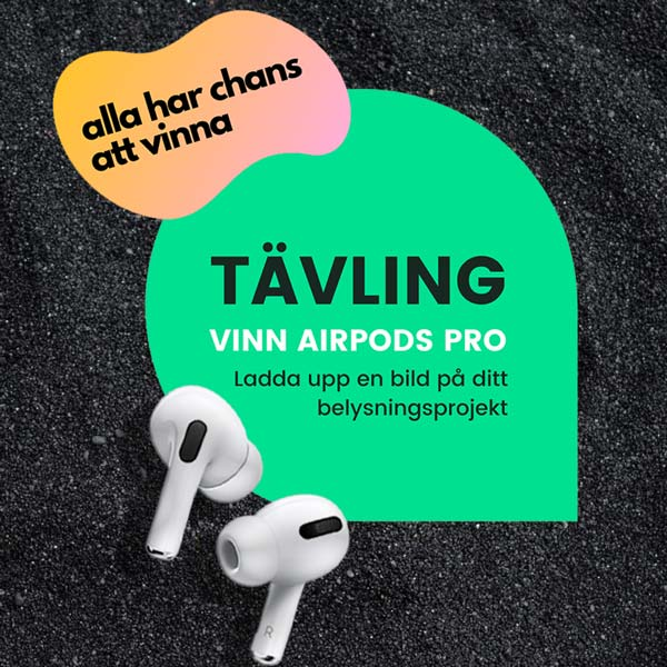 Tävling | Vi lottar ut AirPods Pro hörlurar