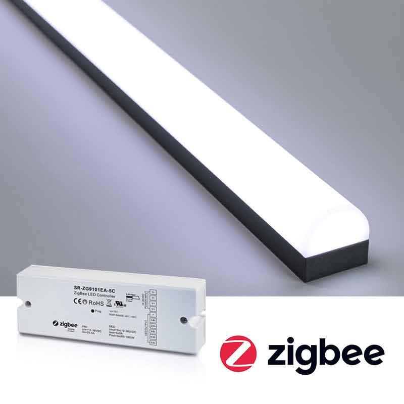 Styr LED-strips & LED-lister med ZigBee (Philips Hue, Ikea Trådfri)
