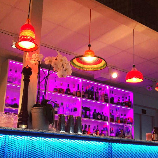 RGB LED strip baren