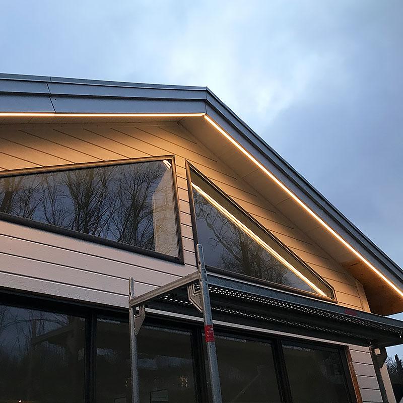 LED-strip fasadbelysning