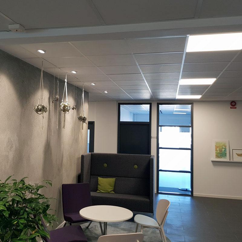Xcen spotlights för kontor