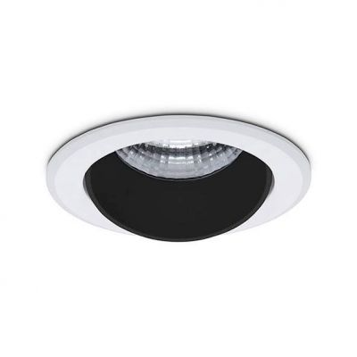 Hector - Liten avbländad downlight 10W 891lm Ø:80mm