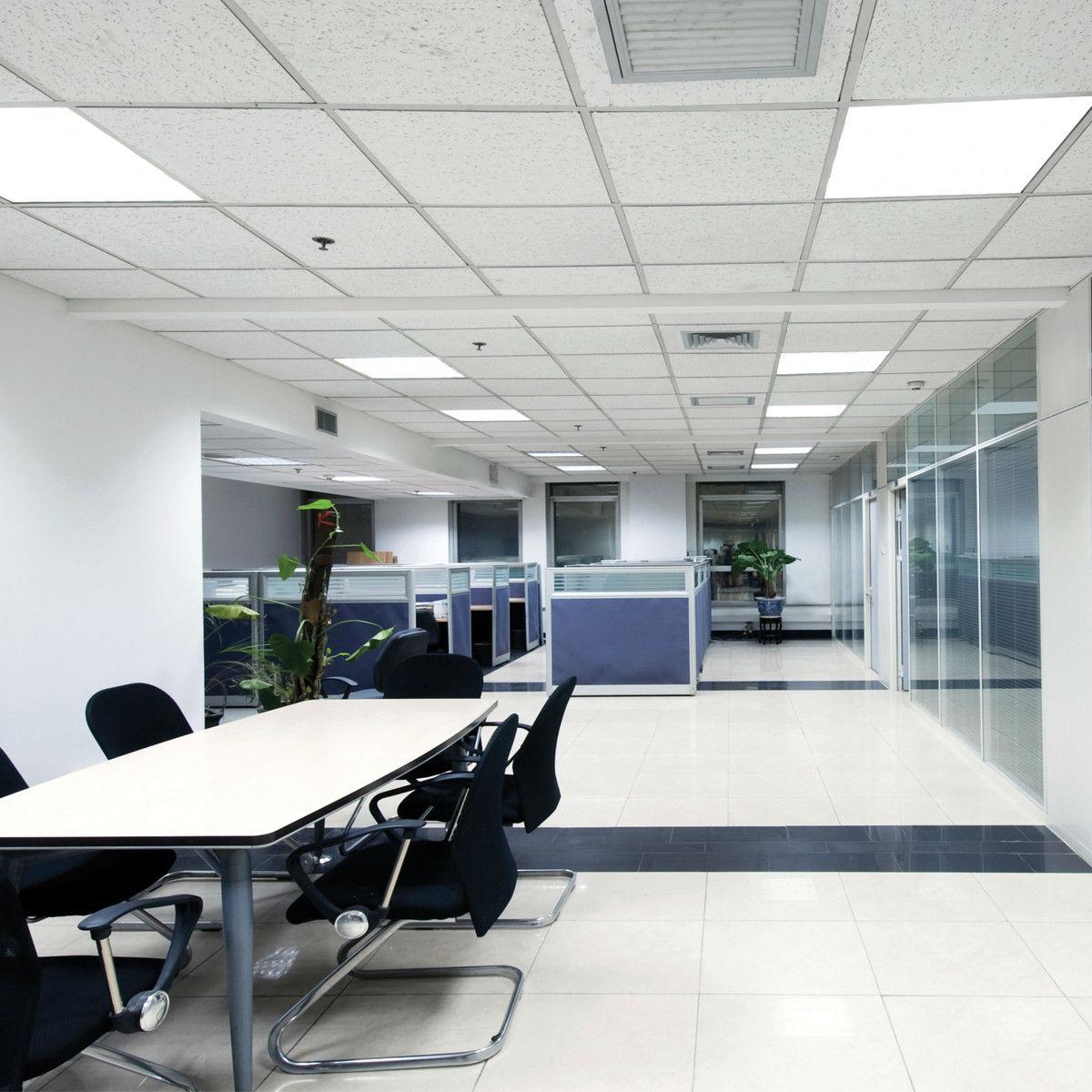 LED-paneler för kontorslandskap