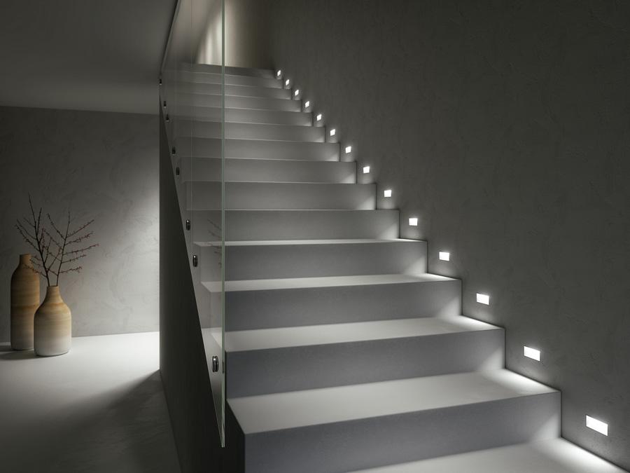 LED-list för vägg (trappa)