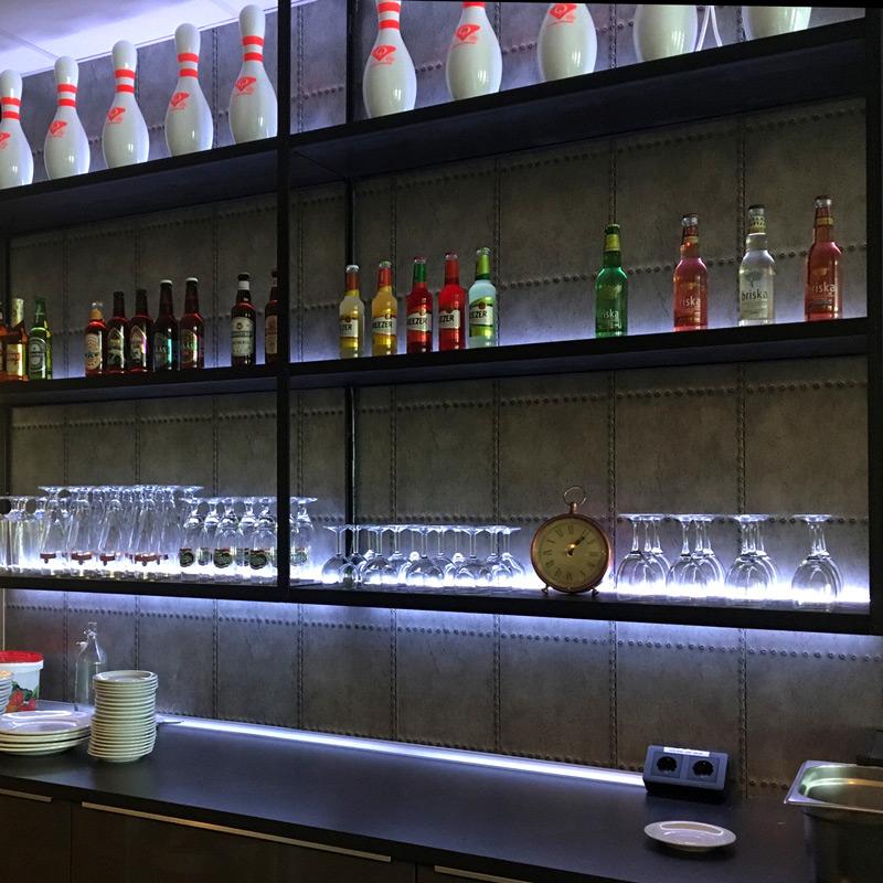 ledlist RGB bar bowlinghall