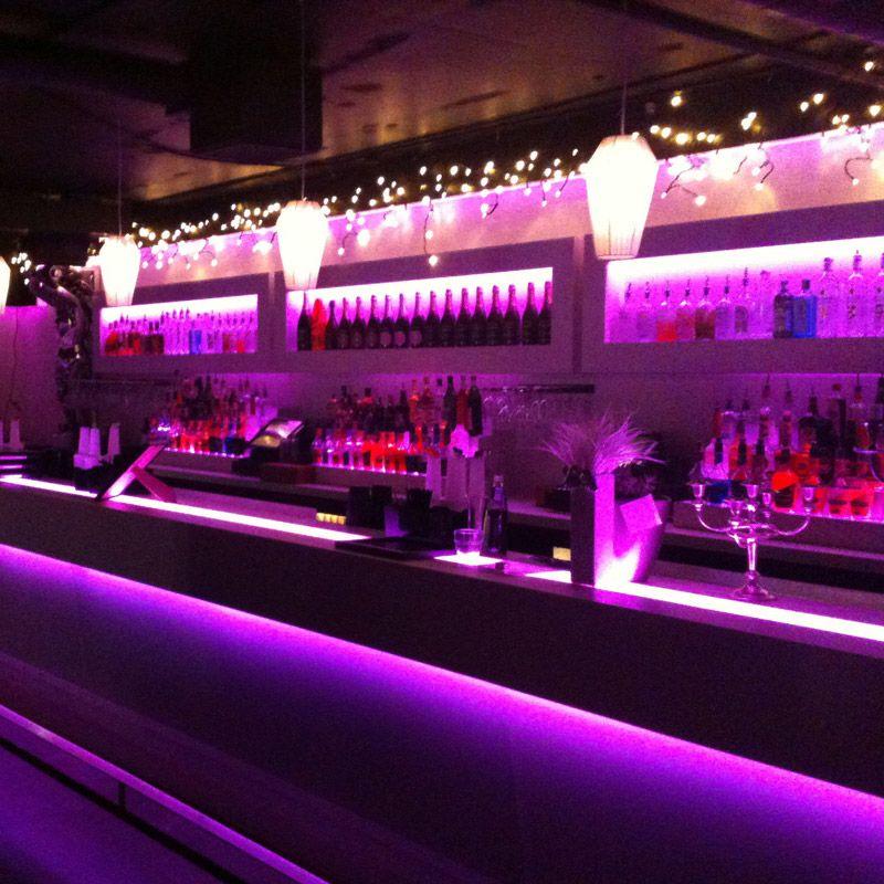 Barbelysning nattklubb RGB