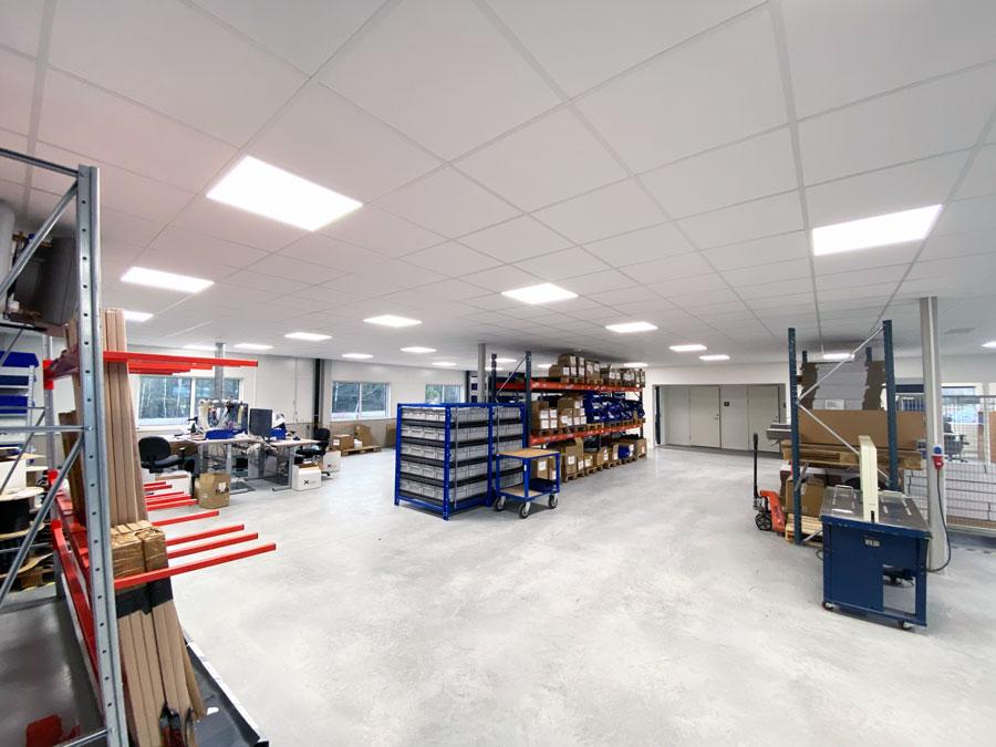 Belysning vid produktion & tillverkning