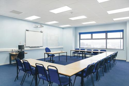 belysnings skola klassrum