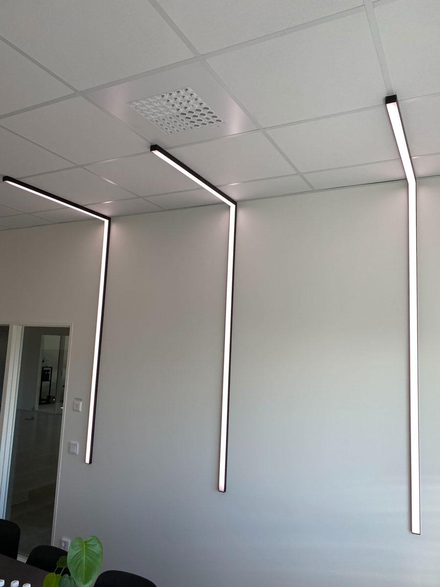 Ljusdesign kontor & offentlig miljö