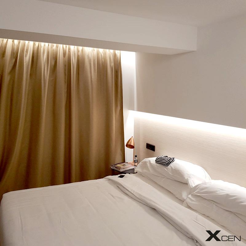 LED-lister i sovrum