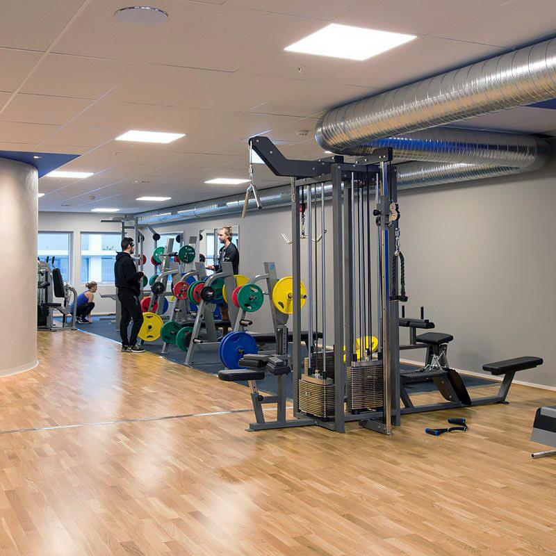 LED panel gym & träningslokal