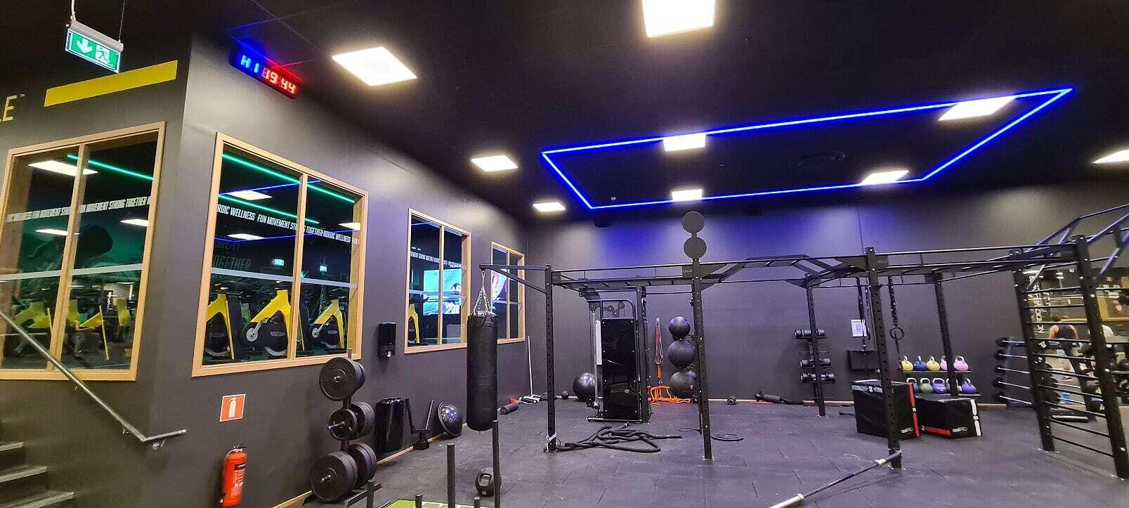 RGB Ljuslister för Gym & Träning