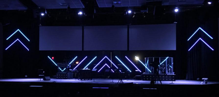 LED-strips för teater, scen & konsert