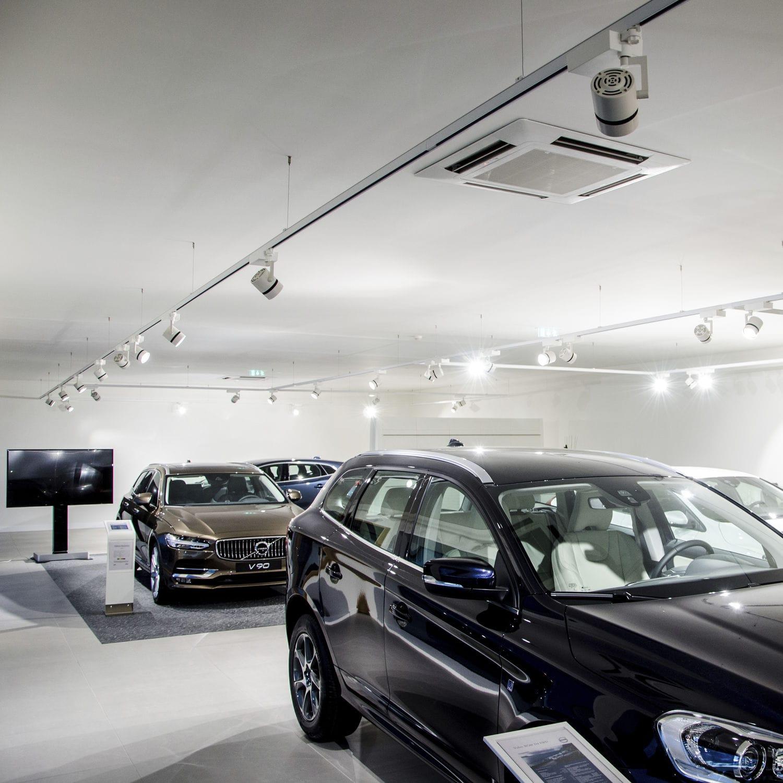 Spotlights bilhall & showroom