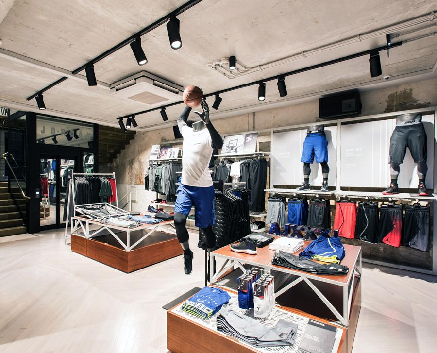 Spotlights sportbutik / klädaffär