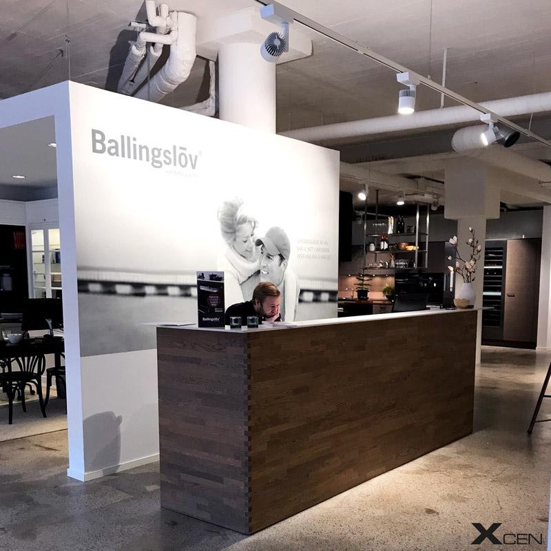 Case - Ballingslöv Butiksbelysning