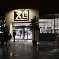 Butiksbelysning till bygghandeln XL Bygg i Karlshamn