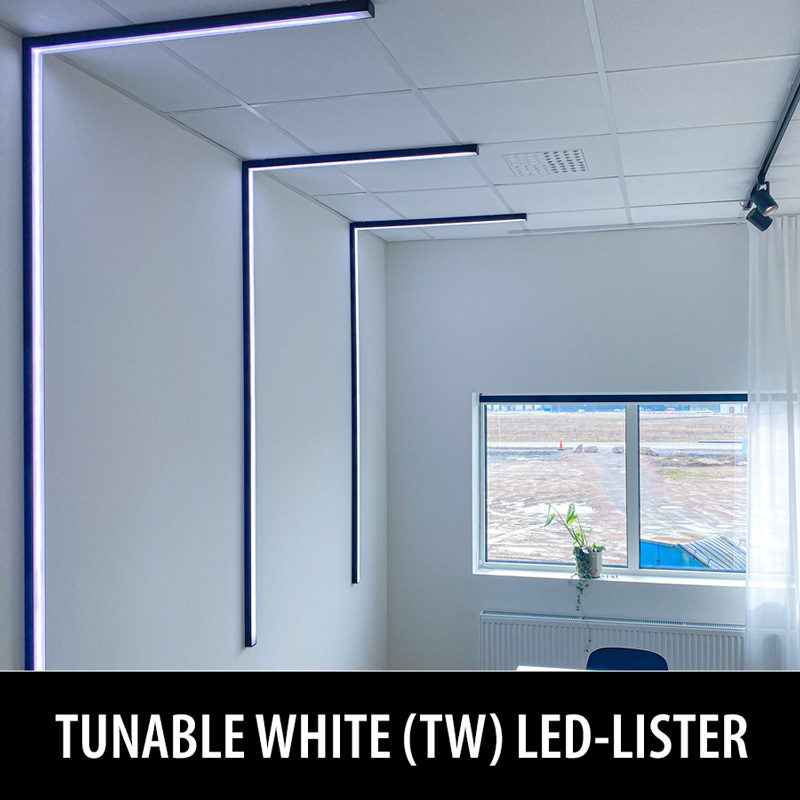 Tunable White LED-lister för kontor