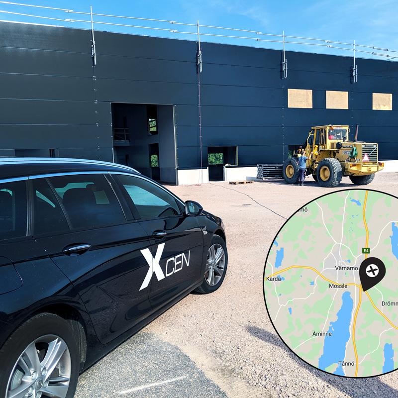 Xcen uppgraderar och flyttar in i nya lokaler