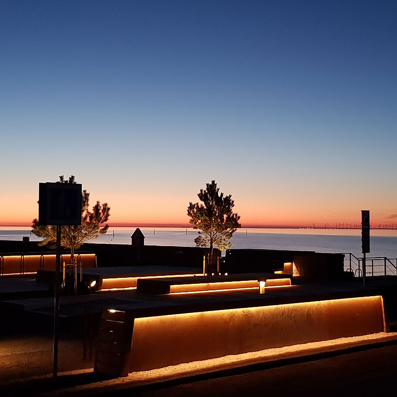 Belysning hamn/brygga allmänt