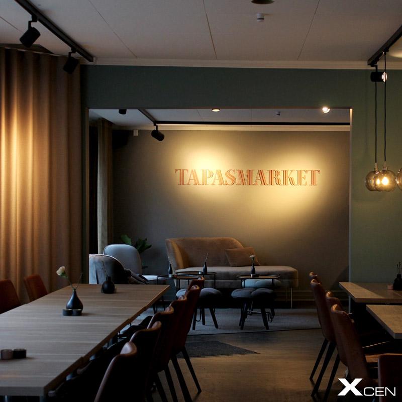 belysning tapasmarket värnamo spotlights