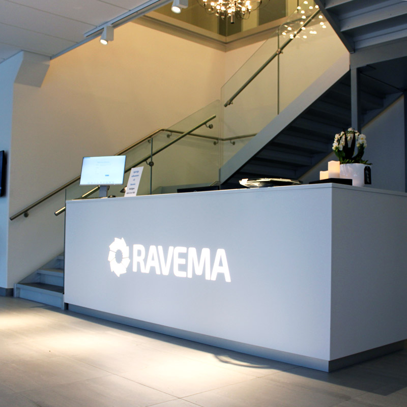 Ravema reception LED tejp