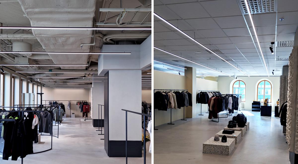 Årets Butiksdesign ljussättning