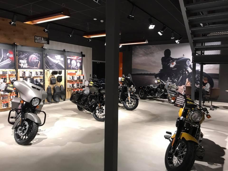 Belysning Harley Davidson