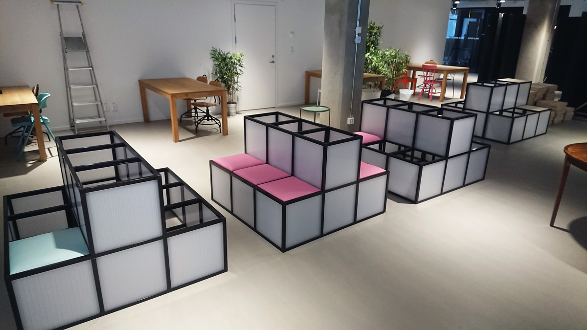 Möbelbelysning moduler LED