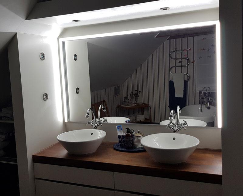 Badrumsbelysning LED-list